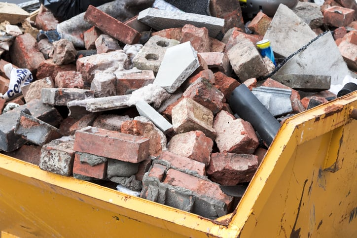 Our guide to disposing of rubble and building waste